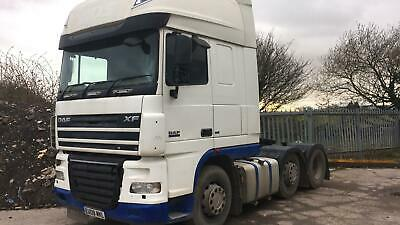 DAF XF 105.460 E5 2008 MANUAL GEARBOX SUPERSPACE CAB 6x2 SLIDER TIDY CURRENT MOT