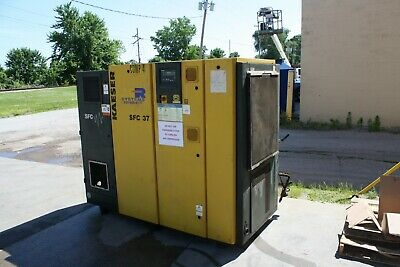 Kaeser Model SFC37, 50 hp Variable Speed Rotary Screw Compressor