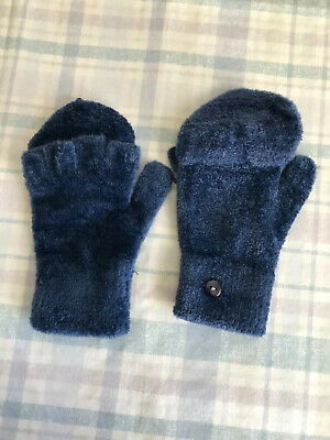 Finger Mittens Blue One size fits most