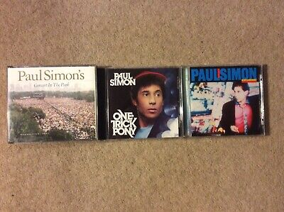 Paul Simon Concert In The Park Fatbox 2 CD + One Trick Pony & Hearts & Bones CDs