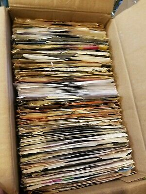 "Lot of 300! 45's Records 7"" 45 RPM vinyl Various Bands, Artists, Years Juke Box"