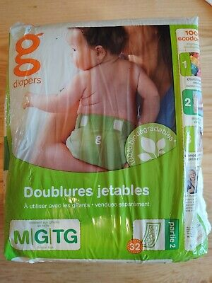 GDiapers Disposable Inserts, Medium/Large (13-36 lbs) Single Package
