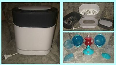 PHILIPS AVENT Electric Steam Sterilizer for Baby Bottles/Extra Baby Dishes Incl.