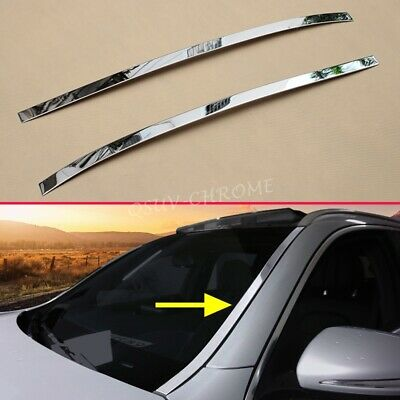 Steel Windscreen Windshield Strips Molding Trims FOR Mercedes-Benz GLC X253 C253