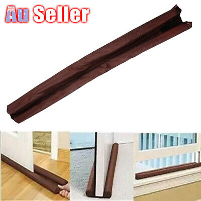 Door Snake Dust Draft Excluder Wind Draught Stopper Cloth Sausage Handcrafted