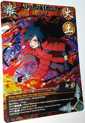 Limited Naruto Fan PrismCard Custom Card Game CCG Kasime hoshigaki Set 30