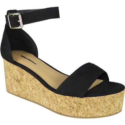 Ladies Platform Wedges Sandals Womens High Heel Ankle Strap Party New Shoes Size