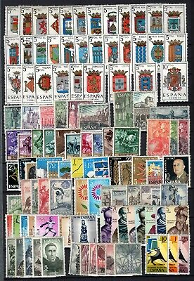 A135100/ Spain Stamps – Years 1964 - 1966 Mint Mnh Modern Lot
