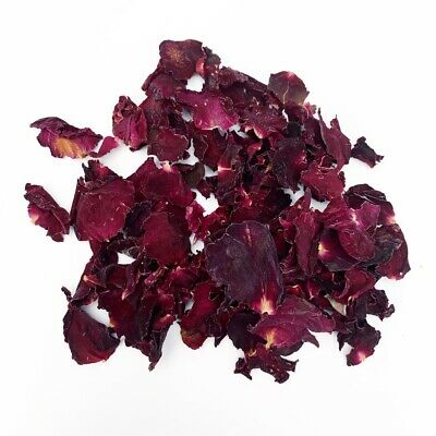 Biodegradable Natural Throwing WEDDING CONFETTI Dried Real RED Rose Petals Dried