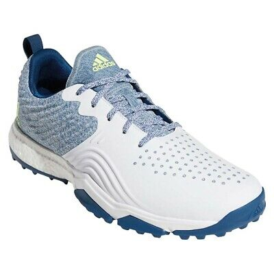 NEW Men's Adidas Adipower 4ORGED S Golf Shoes Marine / White - Choose Your Size!