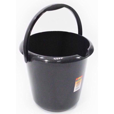 TML13 LTR Strong And Durable Household Bucket With Pouring Lip-Graphite UK