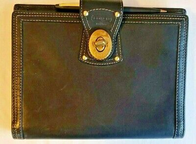 COACH Ladies Black Day Planner - Pre-Owned Very Nice Condition