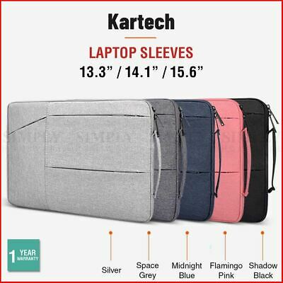 Kartech Laptop Sleeve Bag Case Cover 13.3 14 15.6 Inch For MacBook Dell Asus HP