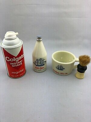 Very Rare Colgate Shave And Old Spice After Shave!! VINTAGE!!