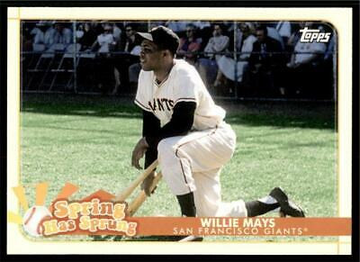 2020 Topps Opening Day Spring has Sprung #SHS-5 Willie Mays