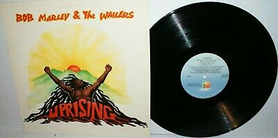 Bob Marley & The Wailers - Uprising - 1980 ILPS 9596 Island Record album