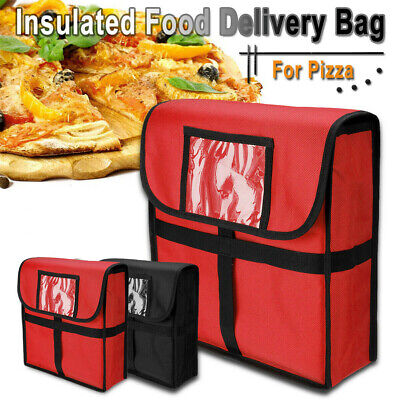 11'' Pizza Hot Food Delivery Bag Restaurant Insulated Thermal Storage Holder