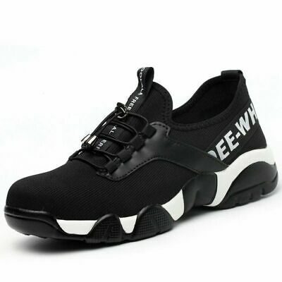 Summer Breathable Steel Toe Caps Safety Shoes for Women Men New Lightweight Sz !