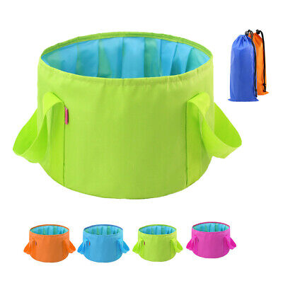 FM_ EE_ Portable Water Basin Folding Washbowl Collapsible Sink Travel Camping Bu