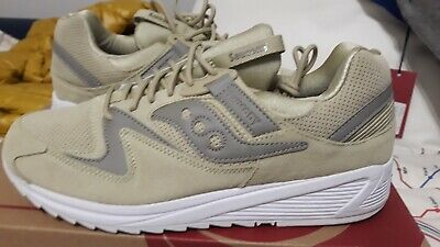 SAUCONY MEN GRID 8500 Trainers Olive Green TG 45 USA 11 NUOVE CON SCATOLA fette