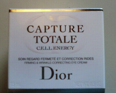 DIOR CAPTURE TOTALE, CELL ENERGY, FIRMING & WRINKLE CORRECTING EYE CREAM, 15 ml
