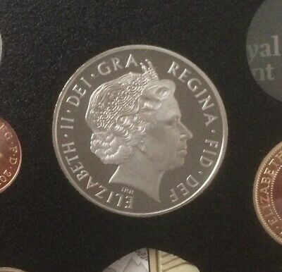 2011 - Five Pound, £5 Proof Crown Coin, Prince Philip 90th, Royal Mint.