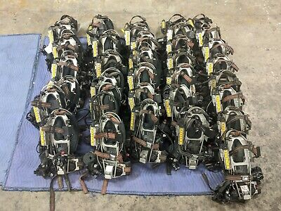 *LOT OF 36* Scott 3.0 Back Pack Fireman Fresh Air Rescue Harness