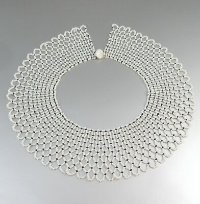 Vintage French Beaded Collar