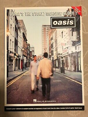 Oasis Whats The Story Morning Glory Guitar Tab Book