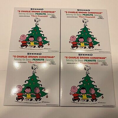 A Charlie Brown Christmas BLIND BOX (4 Pack) 3 Inch By Vince Guaraldi