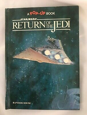 Star Wars Return of the Jedi A Pop-Up Book 1983 Hardcover