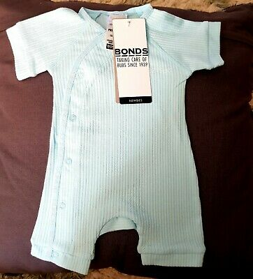 Bonds baby blue cozysuit in assorted sizes, new with free postage