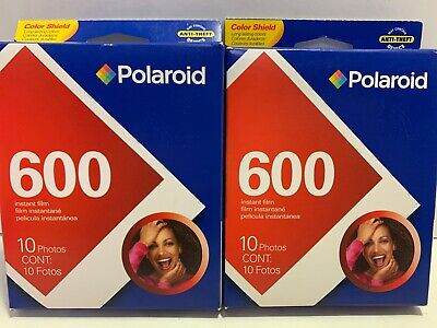 Polaroid 600 Exp 09-2009 Instant Film 2 Packs Of 10 Photos Pictures New Sealed
