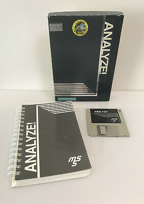"Analyze (Commodore Amiga software, 3.5"" disk, boxed complete)"