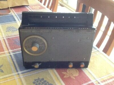 Ferris Radio Car Or Portable Vintage. Holden Ford Valiant  Works
