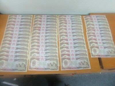54 x Afghanistan 1000 Afghanis -Uncirculated Currency / Banknotes