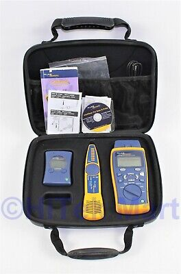 Fluke Networks CableIQ KIT Gigabit Service Kit LinkRunner Pro & Intellitone