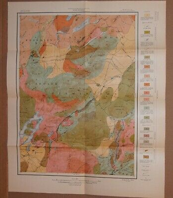 Geologic Map of the Lake Placid New York Quadrangle