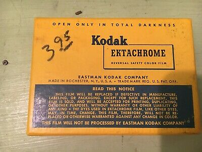 Vintage Kodak Ektachrome Film Pack Expired 1955
