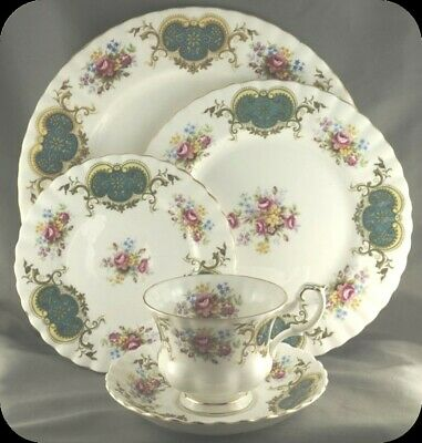 Royal Albert Berkeley Five Piece Place Setting (Two available)