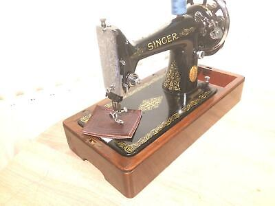 Beautiful Vintage Singer 99K Handcrank Sewing Machine FOR LEATHER