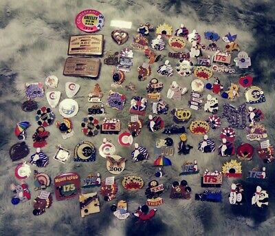 Huge Collection Of Vintage Antique Bowling Pins ABC WBA Jewelery