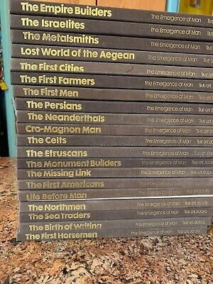 Time Life 22 Vol. Great Ages Of Man