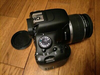 Canon EOS 550D/Rebel T2i Digital Camera 18.0MP 18-55mm 3.5-5.6 SD Card&Charger