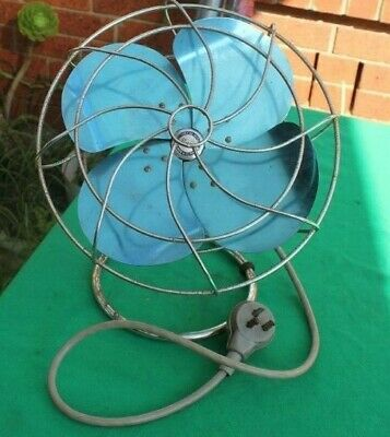 Collectible: MAGIC, blue table fan, working order