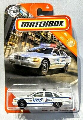 NYPD Chevy Caprice Classic Police City 2019 Matchbox #7