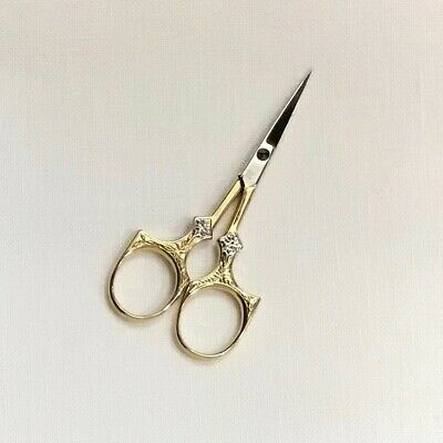 """Wasa Solingen 3 1/2"""" Star embroidery scissors needlepoint cross stitch quilters"""