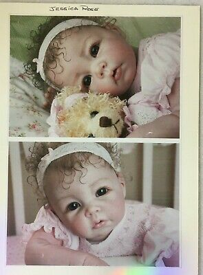 Reborn Doll baby girl doll Jessica Rose - as NEW condition very collectable!
