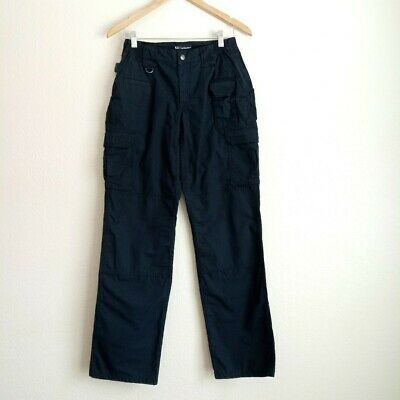 5.11 Tactical Cargo Pants Size 6 Long Dark Navy Blue Women's Utility Career