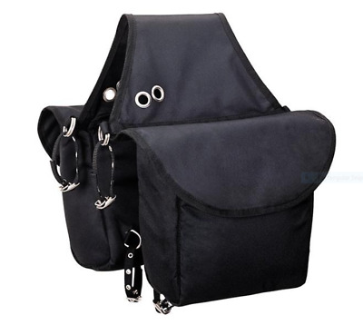 Weaver Black Insulated Saddle Bag Horse New Heavy Duty, Priced to Sell